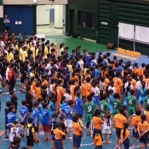17年 愛知県小学生ハンドボール交流会