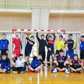 ハンドボール1日練習試合(2017/10/15)– 稲沢西中学校 –