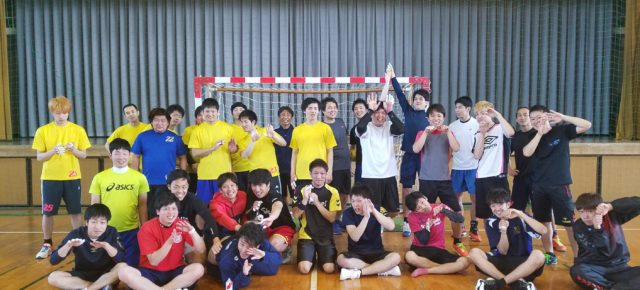 ハンドボール1日練習試合(2018/5/20)– 稲沢西中学校 –
