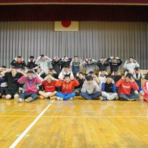 ハンドボール1日練習試合(2017/11/27)– 稲沢西中学校 –